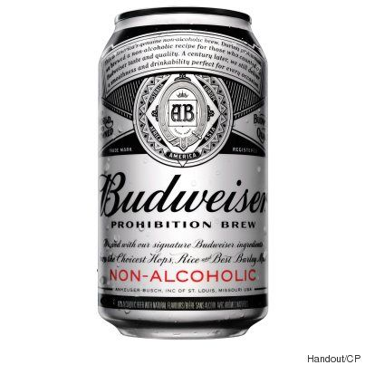 Budweiser Introduces Prohibition Brew A Non Alcoholic Beer To Canada