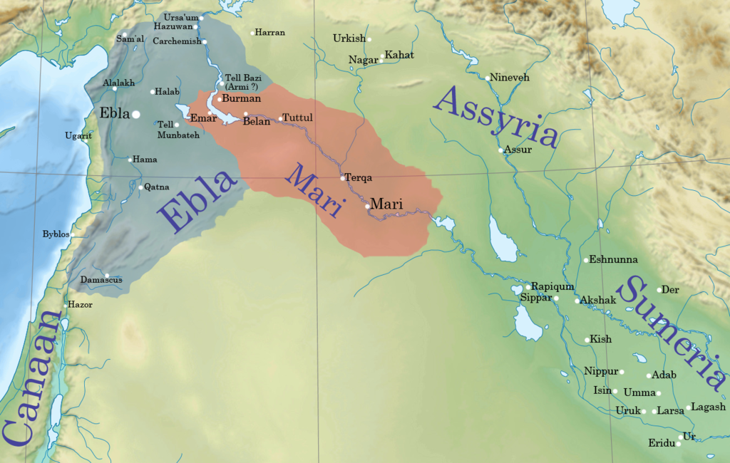 Ancient Middle East Map Mesopotamia%0A Archaeology