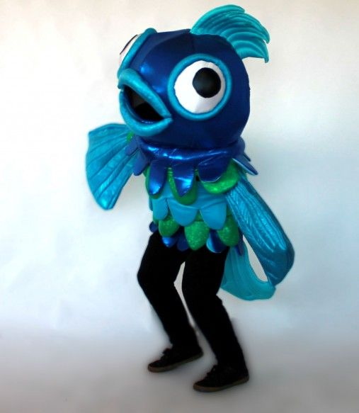 Loudmouth Fish costume
