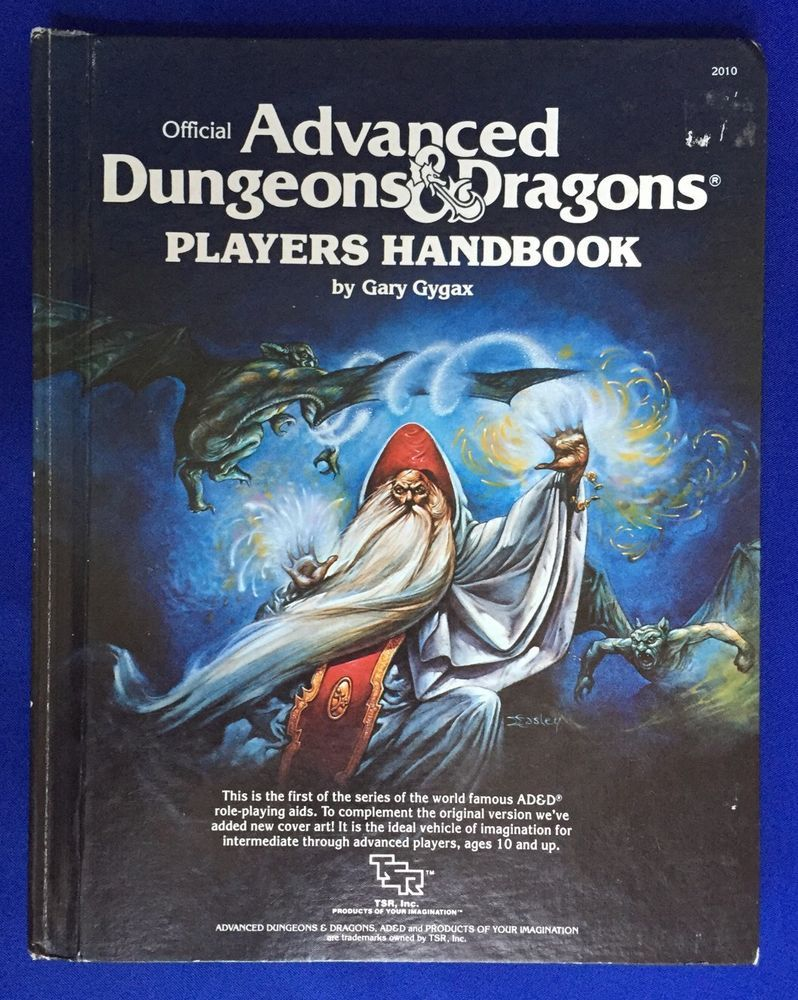 Curse breakers halloween horror mansion walkthrough solution - Ad D Official Advanced Dungeons Dragons Players Handbook Wizard Cover Tsr 2010 Tsr