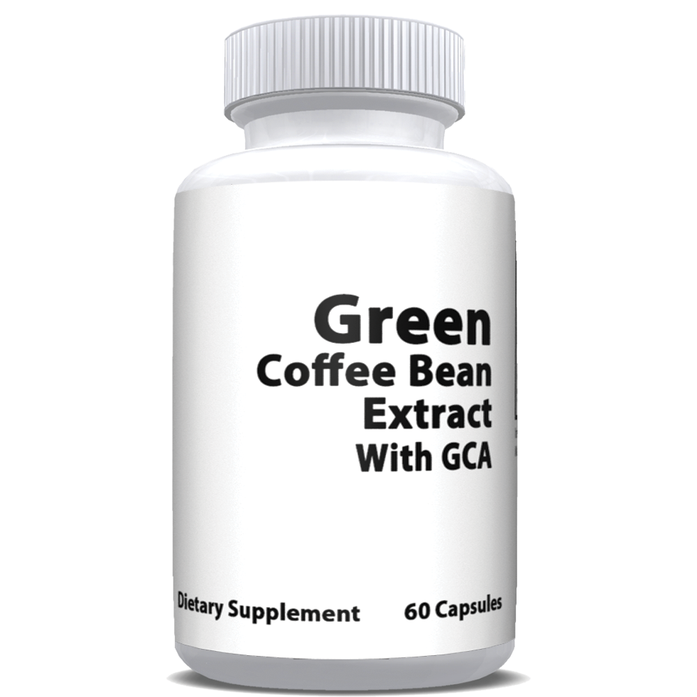 Private Label Green Coffee Bean Extract with GCA On