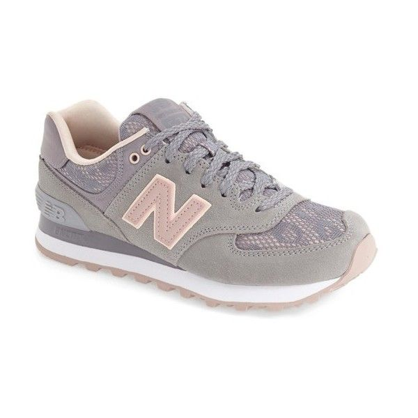 7864ceb09 Women s New Balance  574  Sneaker ( 80) ❤ liked on Polyvore featuring  shoes