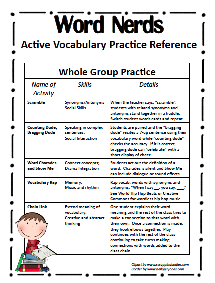 Irresistible image in printable vocabulary activities