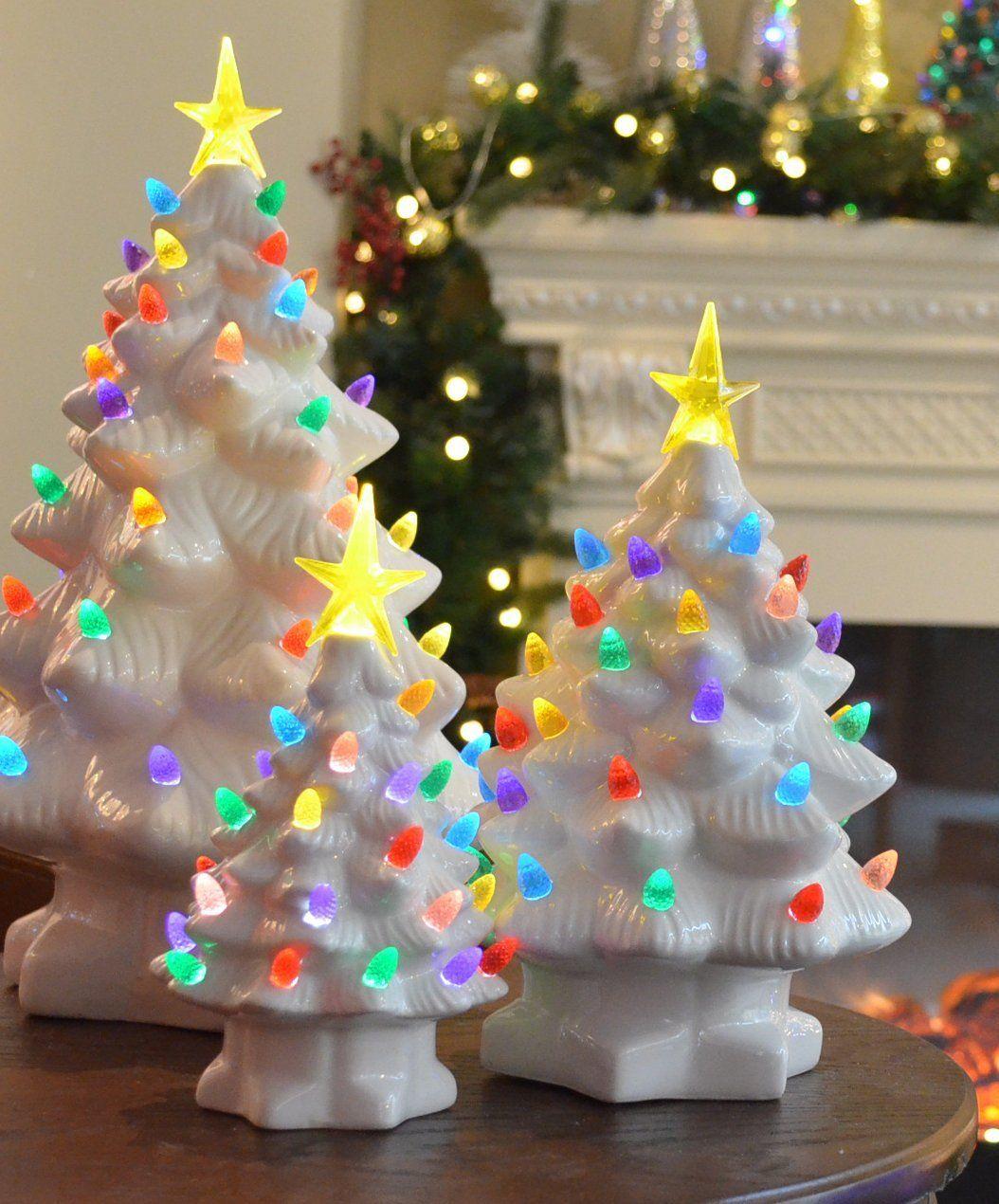 Amazon Com Mr Christmas 10 Inch Nostalgic Porcelain Led Christmas
