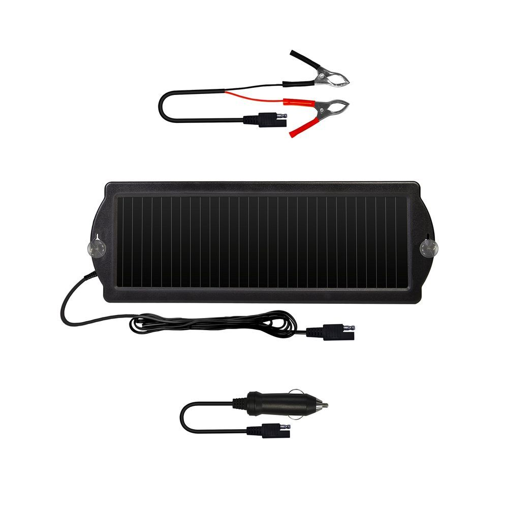 Solar Powered Car Auto Boat Motorcycle 12v Battery Maintainer Trickle Charger Sunforce Solar Battery Solar Panels Solar Energy Panels