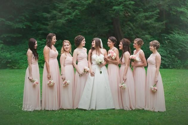 c082d3f164 Shop Azazie Bridesmaid Dress - Haleigh in Chiffon. Find the perfect  made-to-order bridesmaid dresses for your bridal party in your favorite  color
