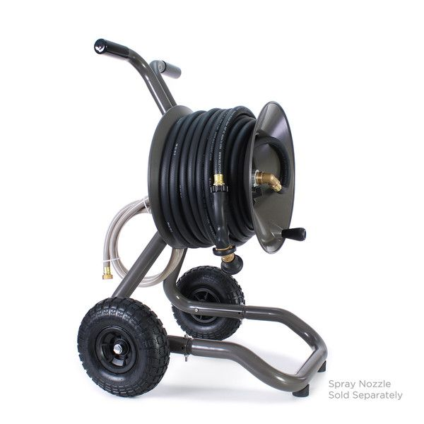 portable garden hose reel cart