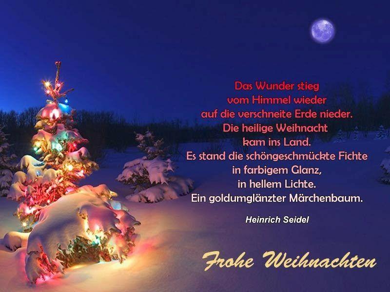 Unbekannte Weihnachtsgedichte.Schöne Weihnachtliche Sprüche Von Bekannten Und Unbekannten Autoren