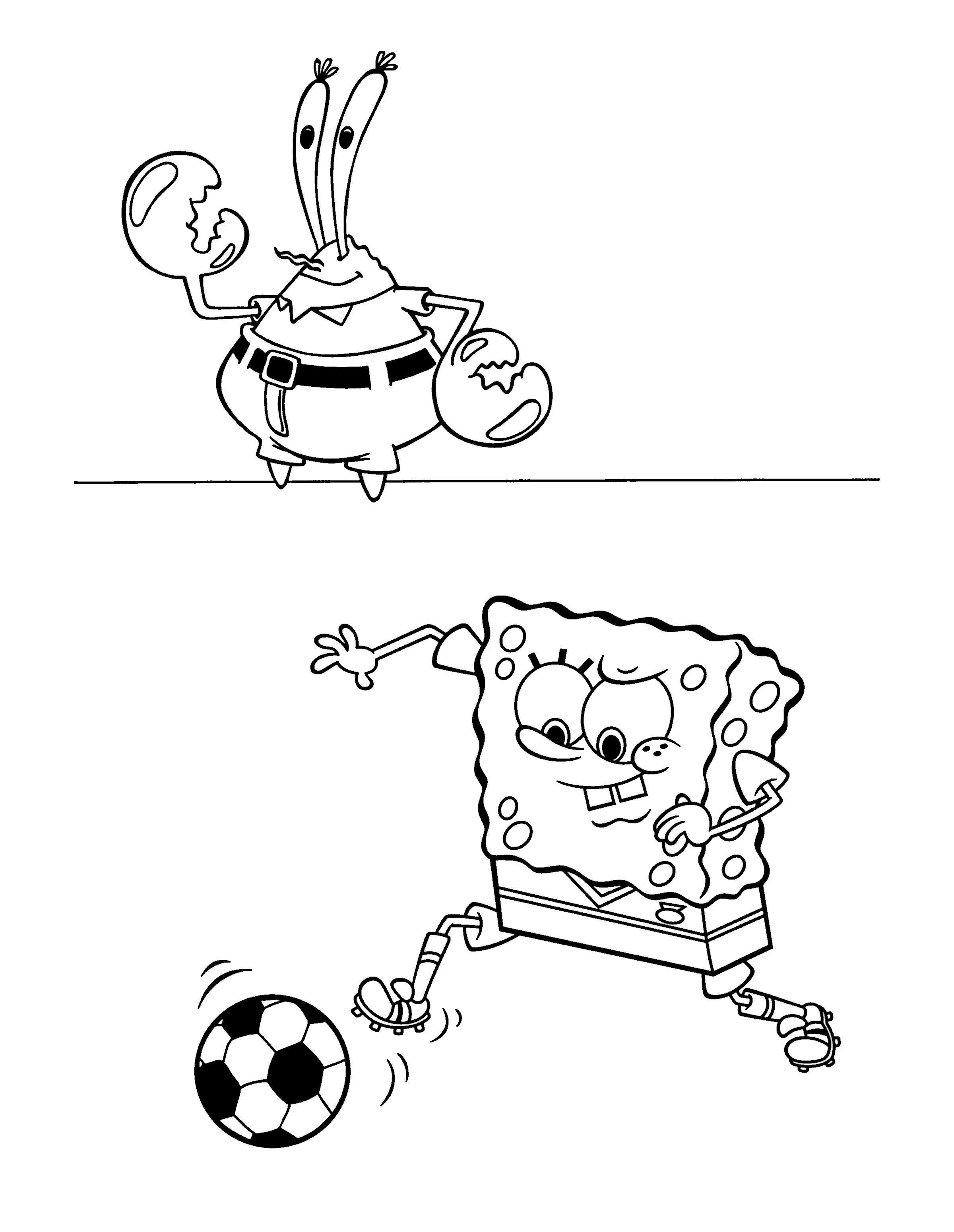 Dibujos para niños para imprimir Bob Esponja 69 | Dibujo | Pinterest ...