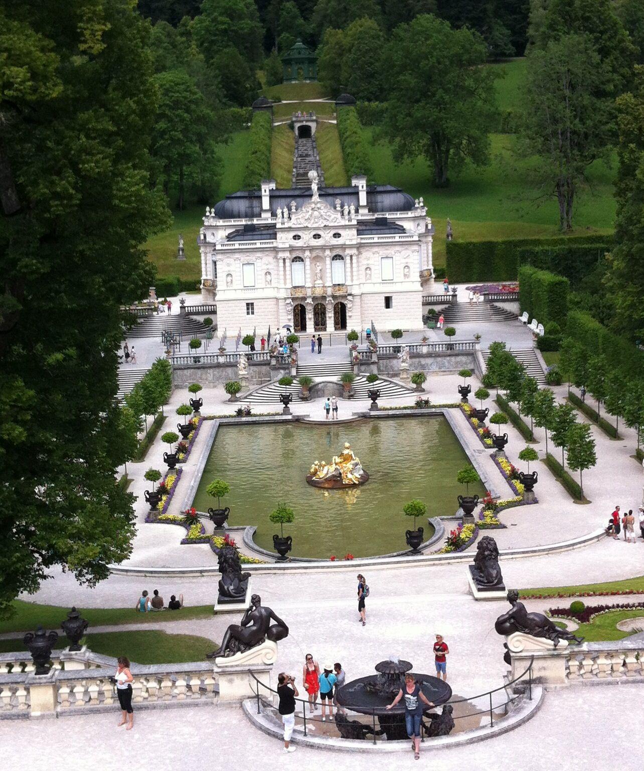 Schloss Linderhof In Ettal Germany Con Immagini Viaggi