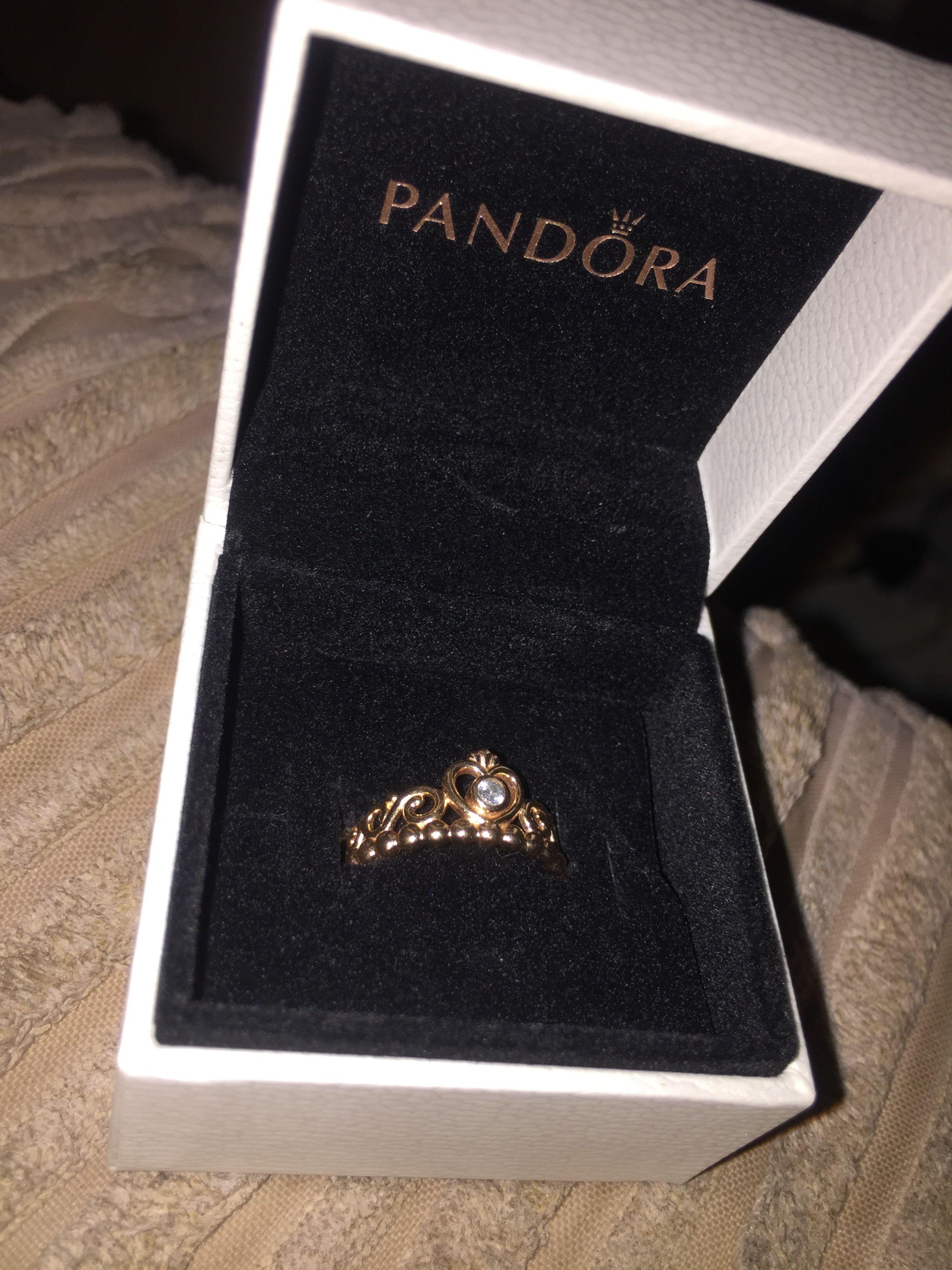Rose Gold My Princess Tiara Ring Princess Tiara Ring Tiara