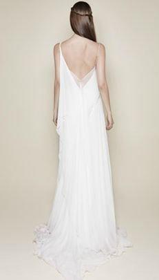 Greek simplicity #wedding #dress