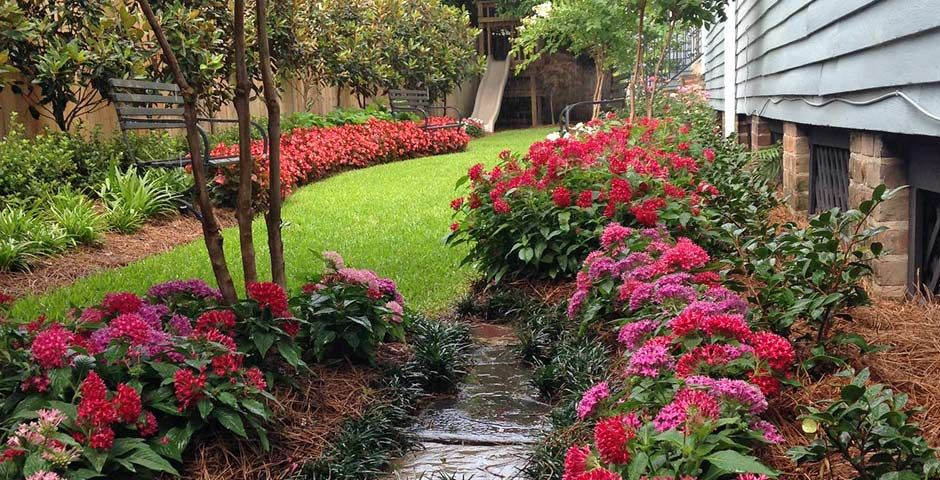 Delicieux New Orleans Backyard Garden Design