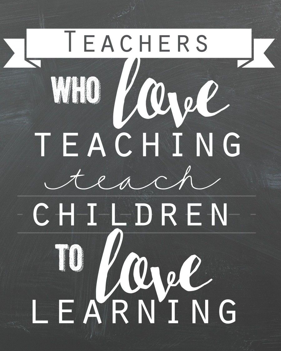Free Thank You Quotes And Sayings: Teacher Quote Free Printable