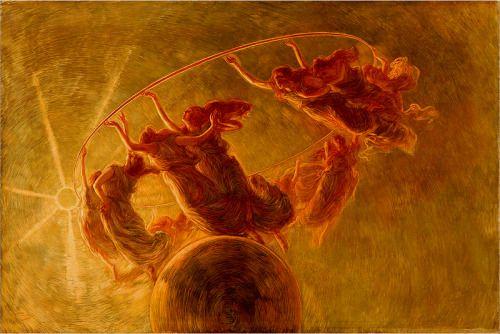 PREVIATI, Gaetano (1852-1920)La danza delle ore1899Oil on canvas, 134 x 200 cmGalleria di Piazza Scala, MilanEd. Orig.