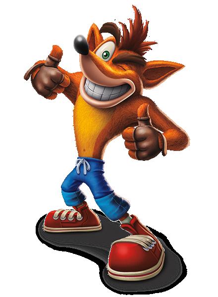 Crash Bandicoot N Sane Trilogy Character Two Column 03 Ps4 Eu 05jul17 440 600 Personagens De Videogame Personagens De Games Crash Jogo