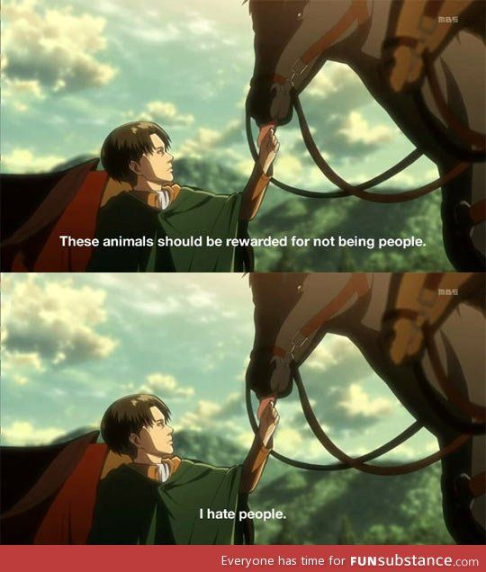 LEVI~  He makes a good point