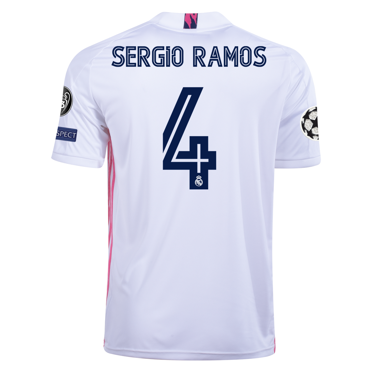 Men's Replica adidas Sergio Ramos Real Madrid Home Jersey 20/21 ...