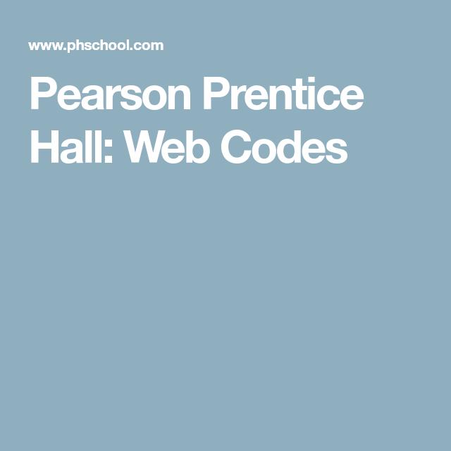 Pearson Prentice Hall Web Codes Prentice Refraction Activities Pearson Education