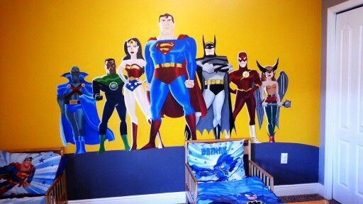 Justice league room