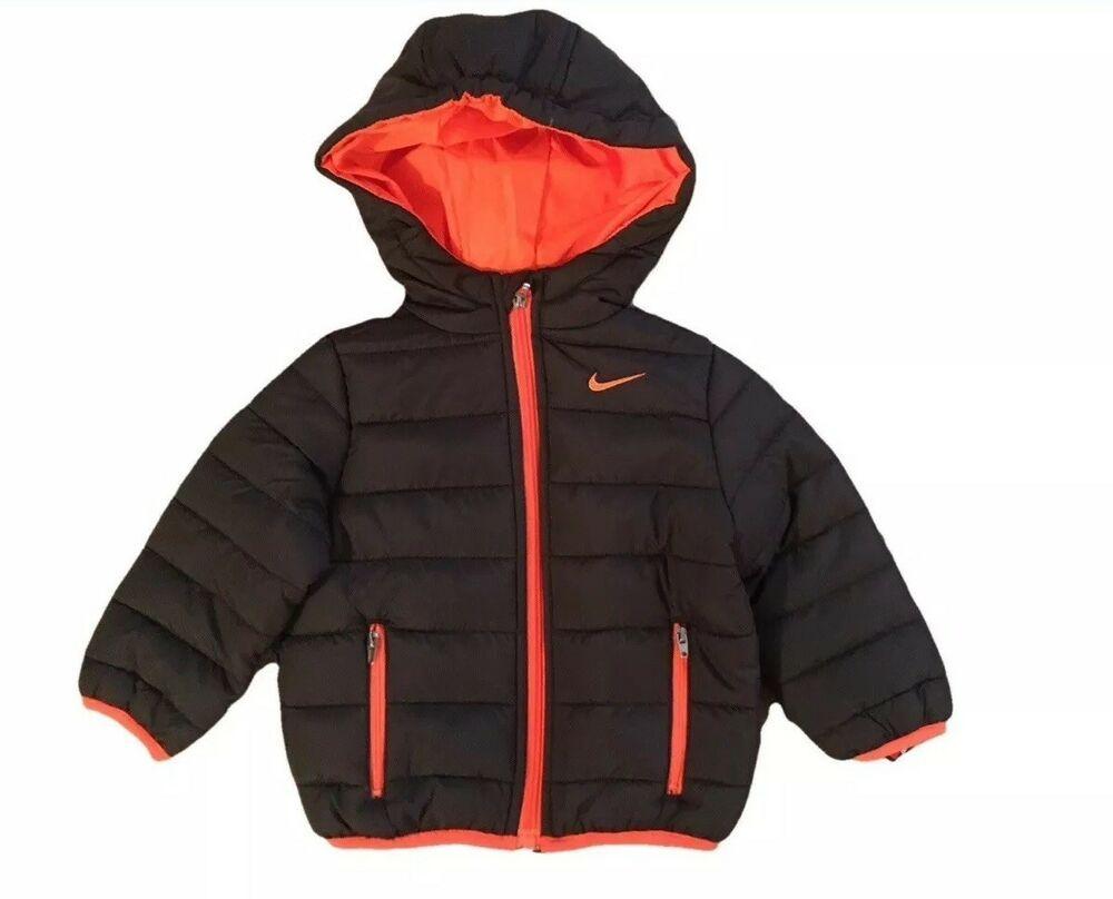 Nwt Nike Baby Toddler Boys Quilted Hooded Jacket Coat Black Neon Orange 2t 75 Ebay Baby Outerwear Boys Nike Coat Boys Winter Coats [ 808 x 1000 Pixel ]