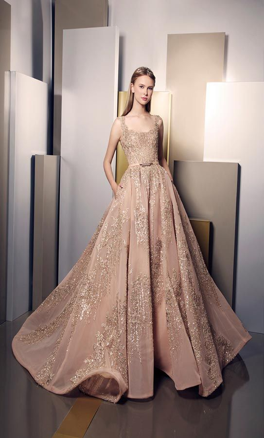 Elegance And Brilliance Through New Ziad Nakad Summer 2016 Dress Collection All For Fashion Design Couture Dresses Dress Collection Gowns