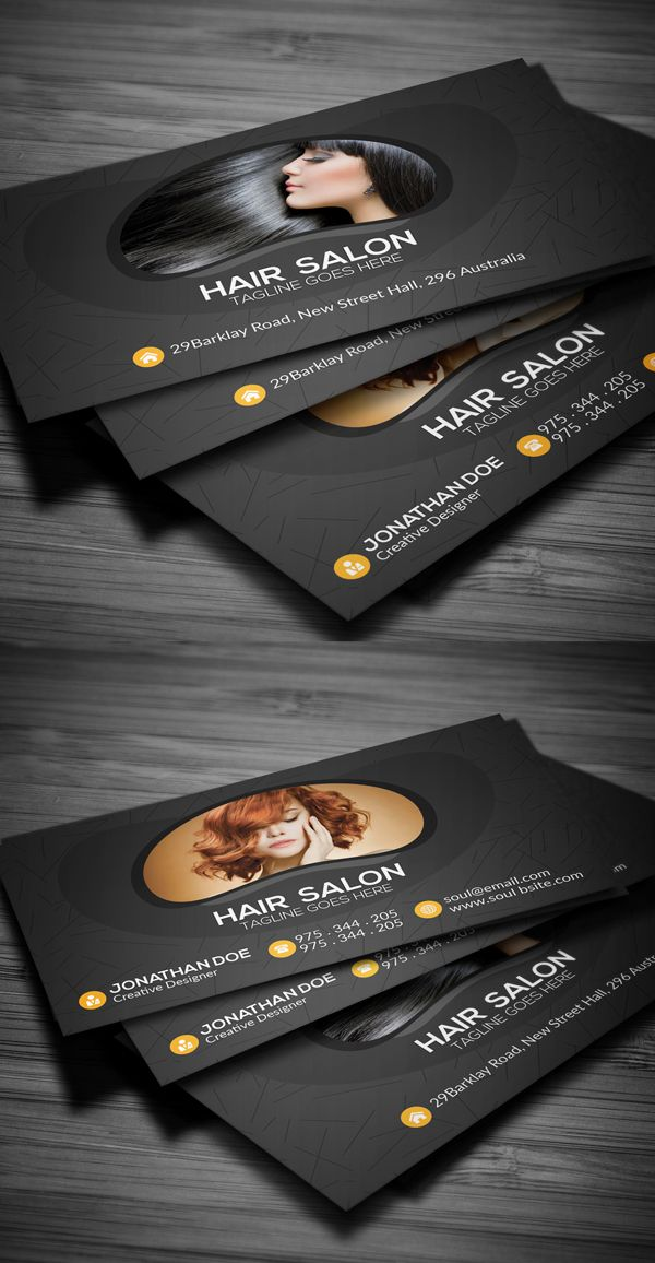 Hair Salon Business Card Business Businesstips Businesscards Cards Salon Business Cards Hair Salon Business Business Cards Creative