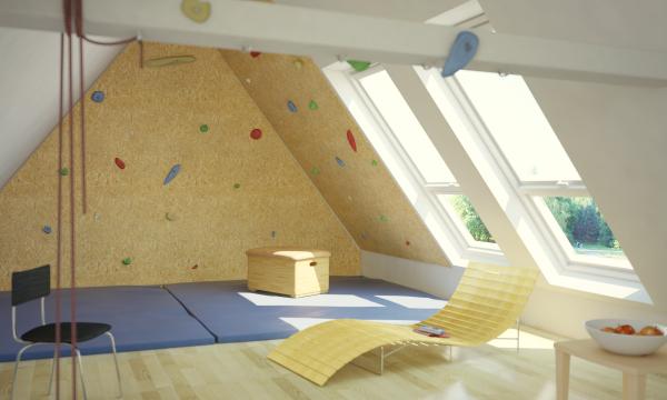 vom dachboden zum wohnraum nachher dachboden 1 dachboden pinterest dachboden boden und. Black Bedroom Furniture Sets. Home Design Ideas