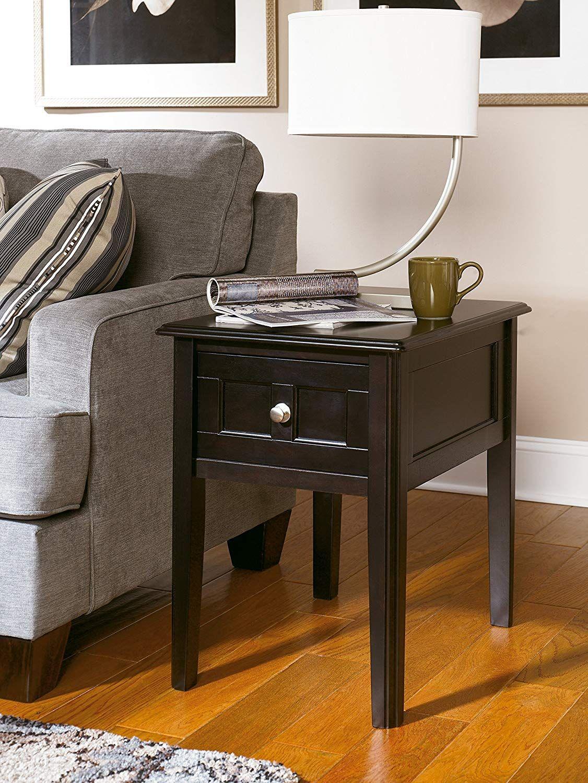 Best Ashley Furniture Signature Design Henning Chair Side End 640 x 480