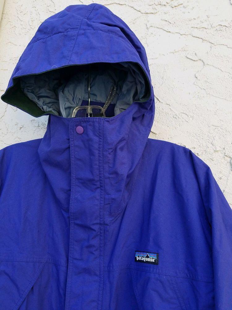 3d85e3774 Vintage PATAGONIA Women's Small Gore-Tex Waterproof Jacket shell Coat Blue  Rain #fashion #clothing #shoes #accessories #womensclothing  #coatsjacketsvests ...