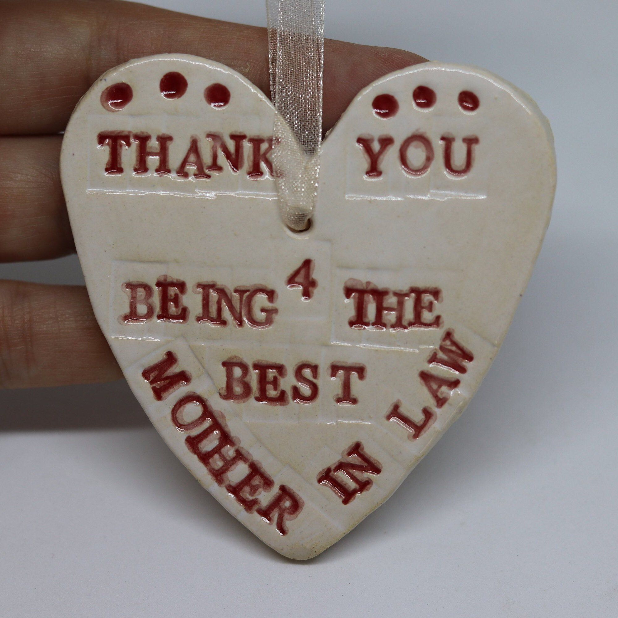 Mother in Law, Mum in law, Getting Married, Wedding Planning, Mum, Bridal Party, Handmade, Pottery Ornament, Wedding Day, Wedding Favour.