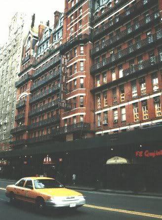 Chelsea Hotel, NYC