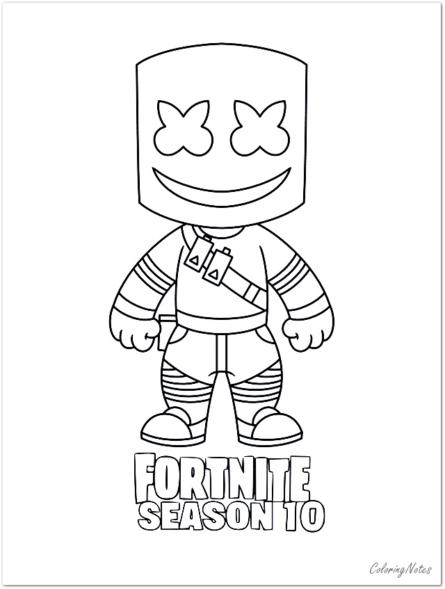 Fortnite Coloring Pages Season 10 Skins Printable Coloring Pages Free Printable Coloring Pages Coloring Pages For Boys