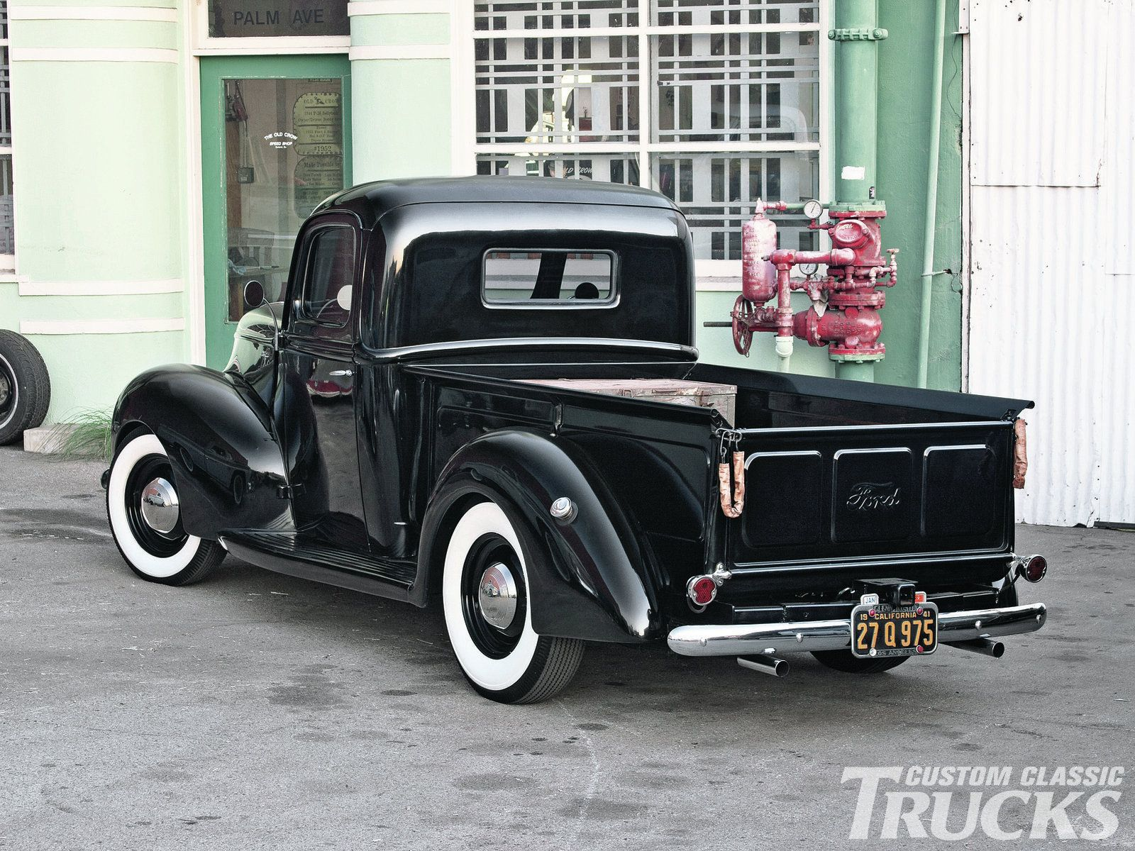 1940 Ford Truck Tail Gate Photo 7 1940 Ford 1940 Ford Truck Classic Trucks Magazine