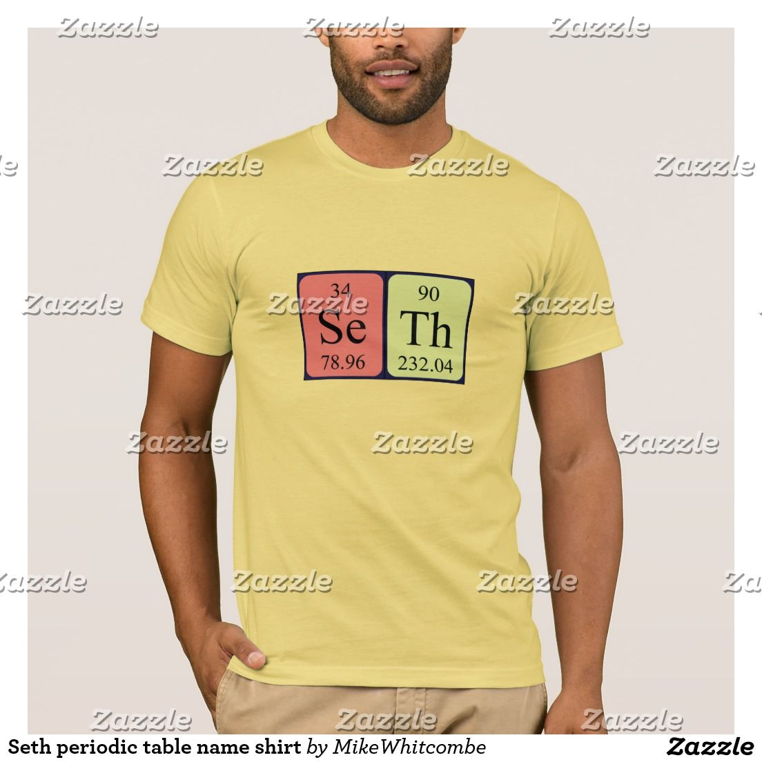 Seth periodic table name shirt pinterest periodic table seth periodic table name shirt urtaz Image collections