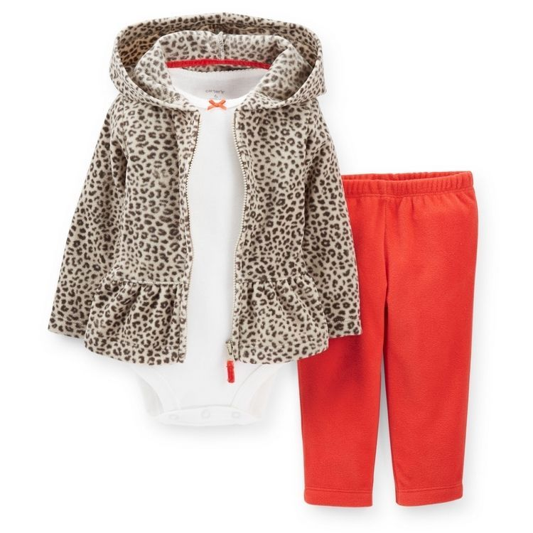 14 99 Nwt Carters Baby Girls 3 Piece Cardigan Set Clothes 6 9 12 18 24 Months Ebay Fashi Shirts For Leggings Carters Baby Girl Baby Girl Clothes