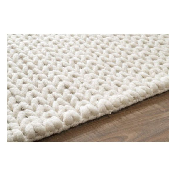 Nuloom Textures Cable Chunky White Area Rug Textured Carpet Rugs On Carpet White Rug