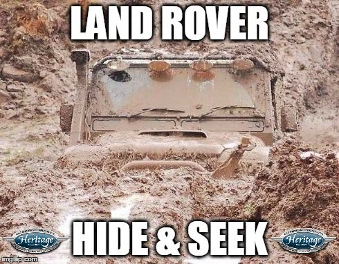 Land Rover Hide and Seek by Heritage Modified 4x4 Insurance