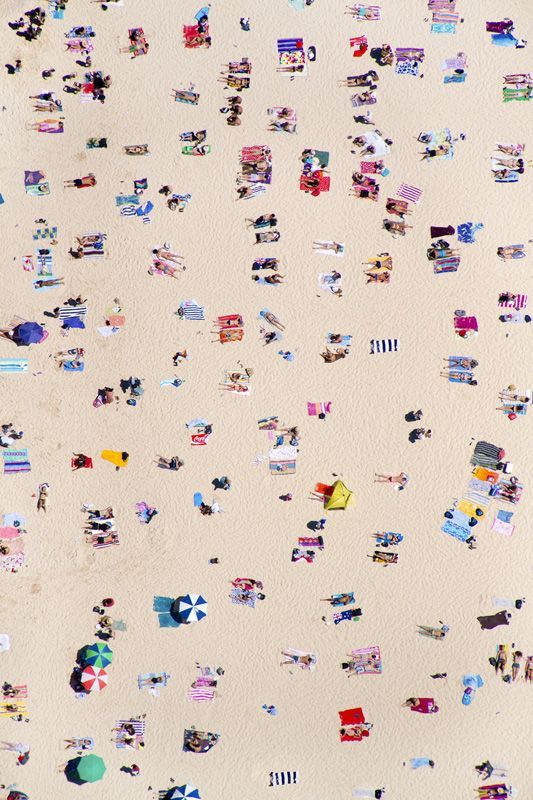Aerial Images from Beaches All Over The World   Image via Gray Malin