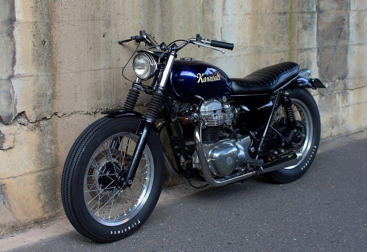 Kawasaki W650 Custom Honda Bikes Cafe Racer Motorcycle Cafe Racer Bikes