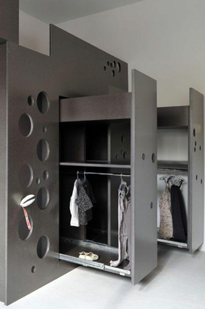 Astuce Rangement Chambre Petite Espace Avec Meubles Gain De Place