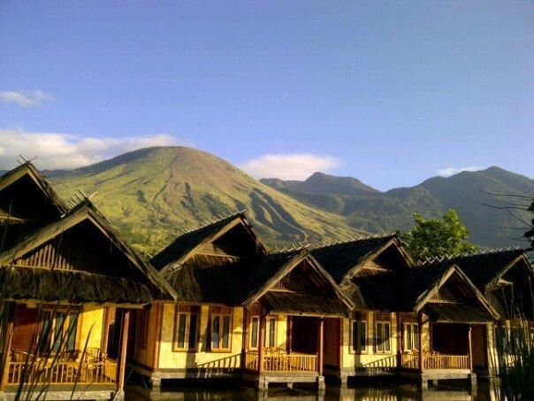 A beautiful morning at Garut, Indonesia.