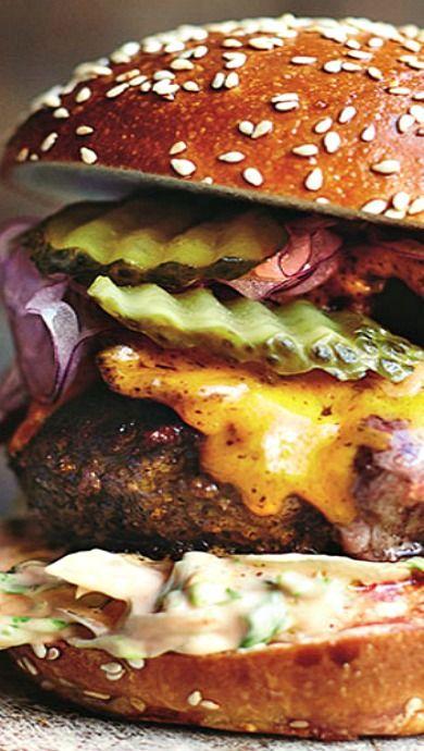pin von joschika charlotte auf rezepte pinterest essen burger und rezepte. Black Bedroom Furniture Sets. Home Design Ideas