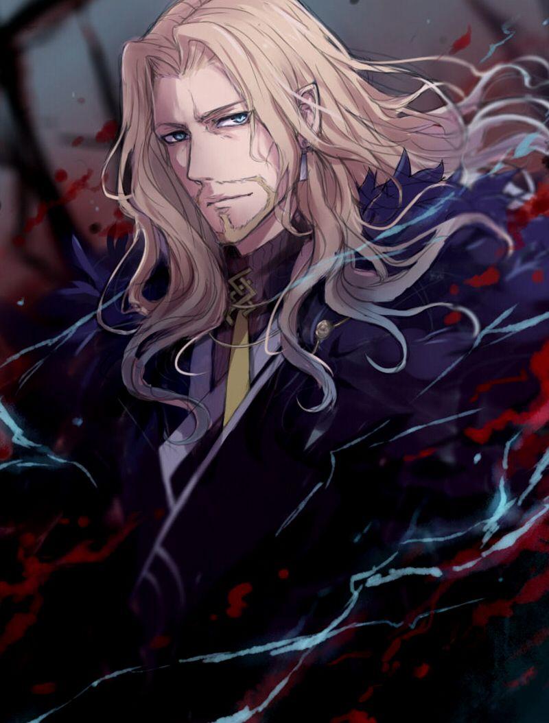 Pinterest Lancer Of Black Fantasy Art Men Anime Boy Long Hair