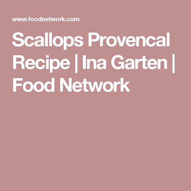 Scallops Provencal Recipe   Ina Garten   Food Network