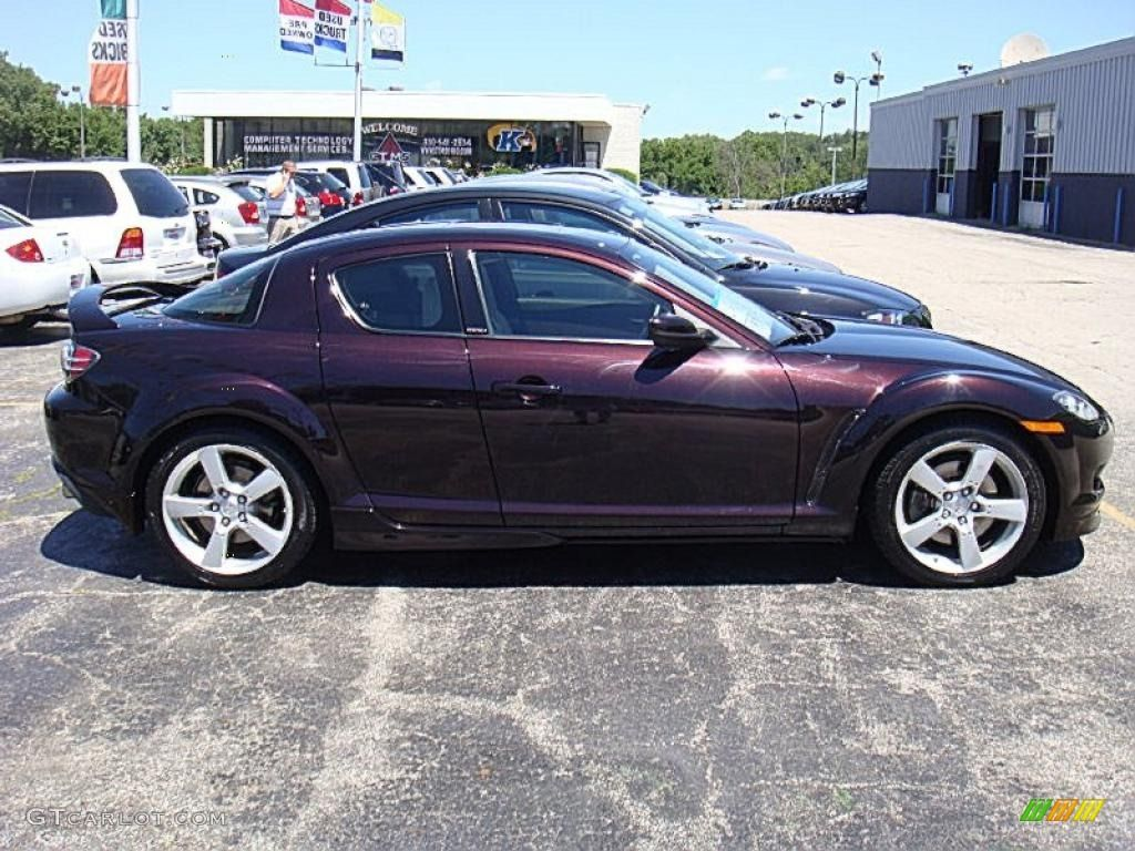 2005 Rx 8 Black Cherry Mica This Could Be A Good Color For Mx3 Vehicles Color Mazda