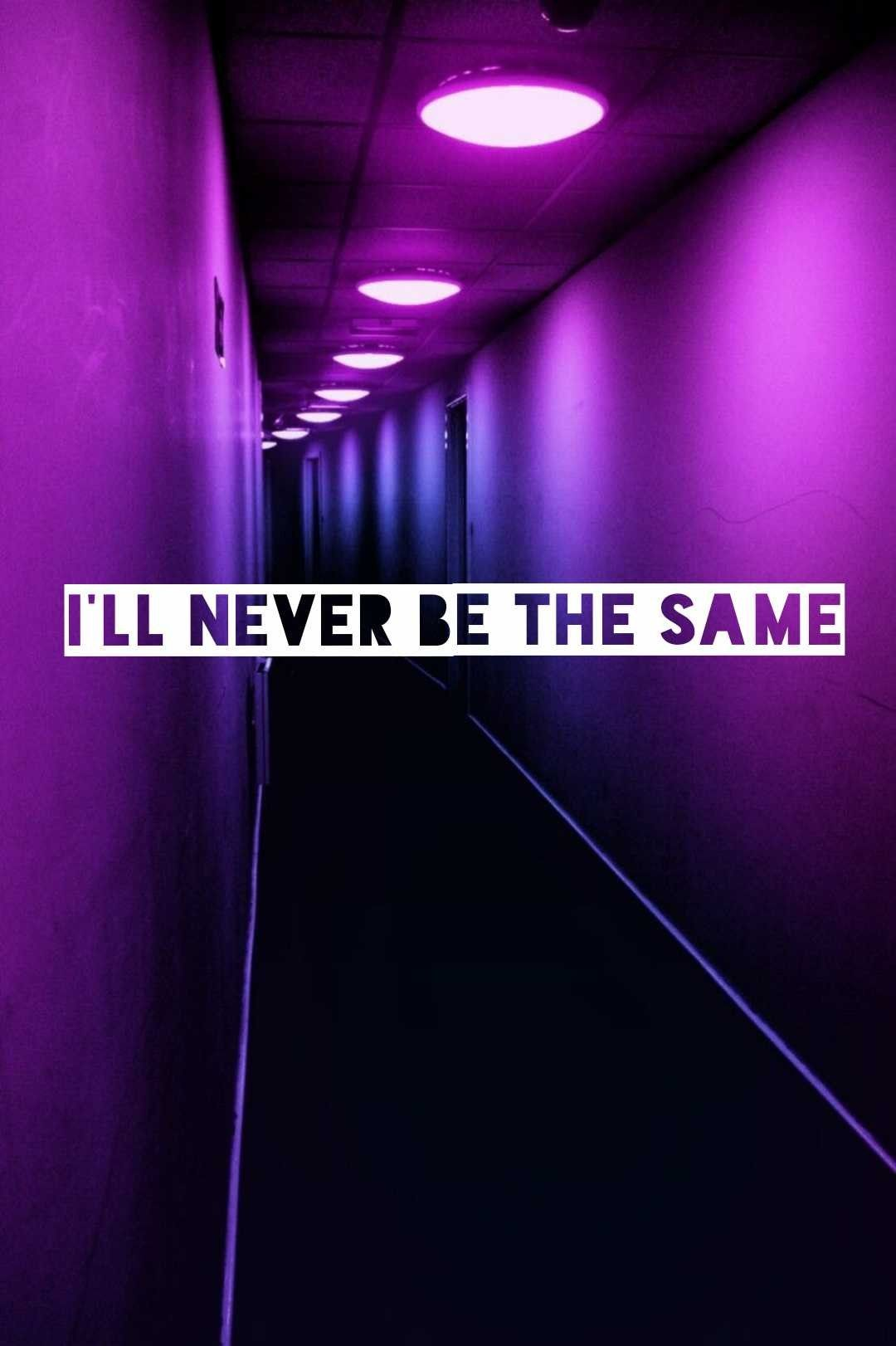 Never Be The Same songtekst