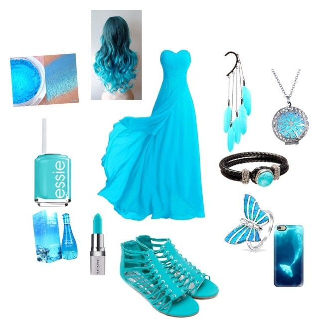 """Beautiful blue girl"" by pinkcupcake-2 on Polyvore featuring Bling Jewelry, Anni Jürgenson, Davidoff, Shany, Casetify and Essie"