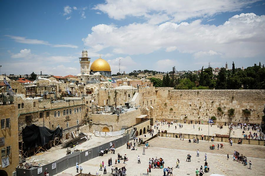 View Over The Western Wall Wailing Wall in 2019 | Geller