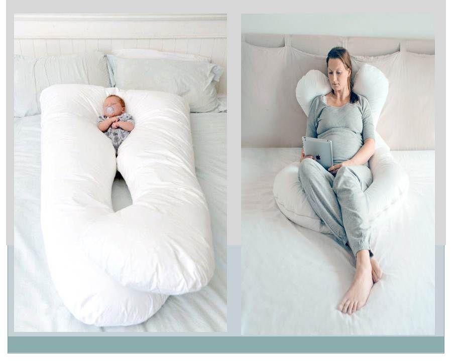 Almohada Embarazadas Amamantar Descanso Regalo 2 490 00 Almohadas Para Embarazadas Almohada De Maternidad Almohada Embarazo